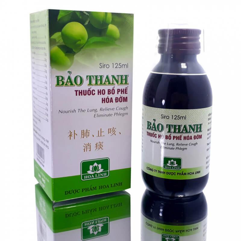 Ho khan nên uống thuốc gì: Thuốc ho Bảo Thanh