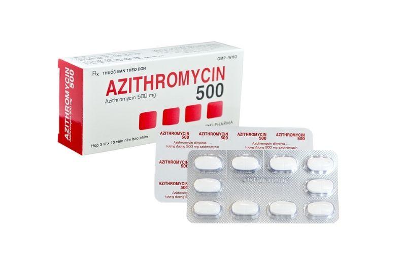 Azithromycin - thuốc có thể sử dụng cho cả trẻ em và người lớn