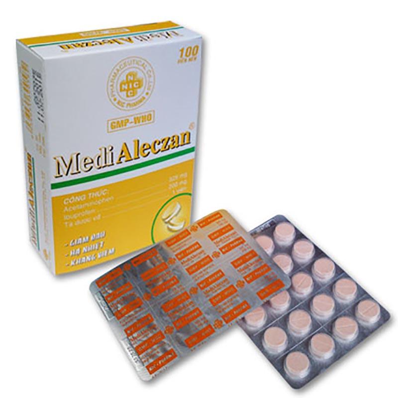Medialeczan là thuốc kháng viêm không cần kê đơn