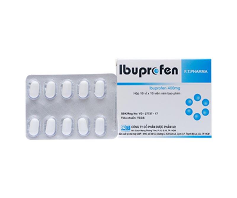 Ibuprofen được sử dụng chống đau và viêm ở mức độ từ nhẹ đến vừa