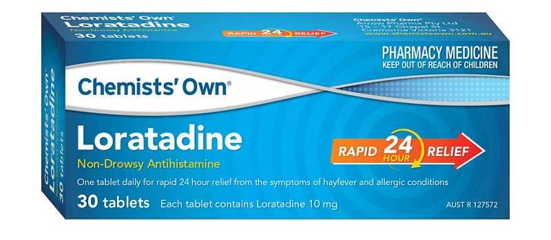 Thuốc Loratadine trị mề đay cho trẻ em