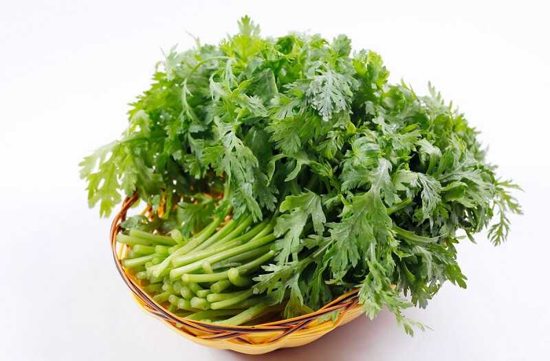 Thường xuyên ăn món ăn có chứa cải cúc để có thể giảm nhanh các triệu chứng ho
