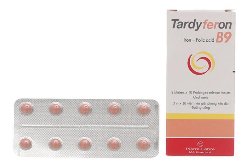 Tardyferon B9 được hầu hết các chị em phụ nữ mang thai tin dùng