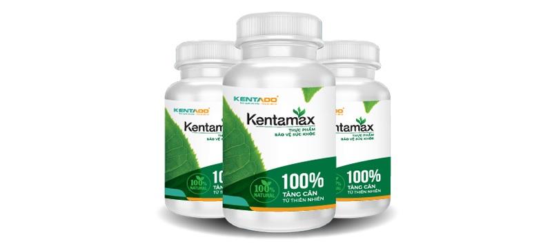 Kentamax là sản phẩm tăng cân lâu dài bền vững