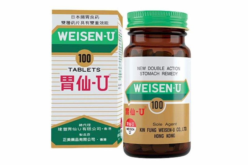 Thuốc Weisen U giúp giảm nhanh các triệu chứng bệnh