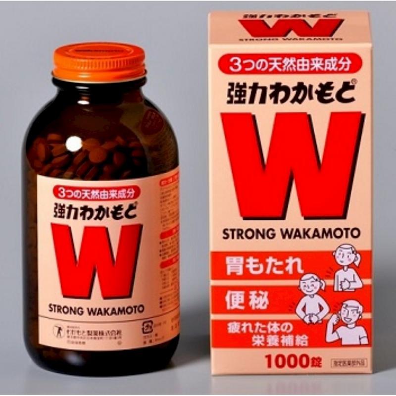 Viên uống Strong Wakamoto trị trào ngược dạ dày của Nhật