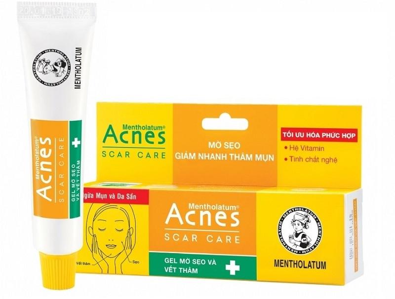 Acnes Scar Care là kem trị mụn thâm được yêu thích nhất