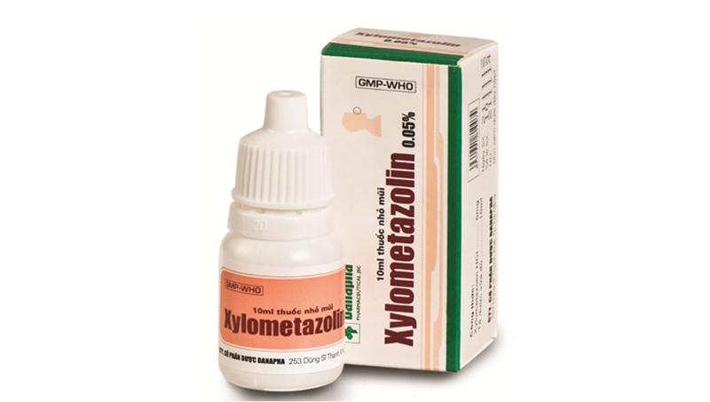 Thuốc Xylometazolin 0,05% được điều chế dưới dạng nước nhỏ mũi