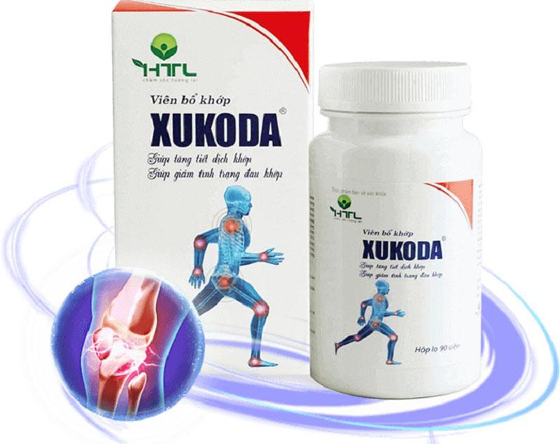 Thuốc chữa bệnh thoái hóa Xukoda nổi tiếng hiện nay