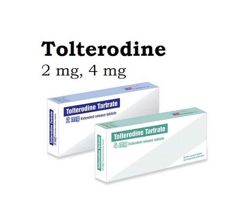 Thuốc trị tiểu rắt Tolterodine