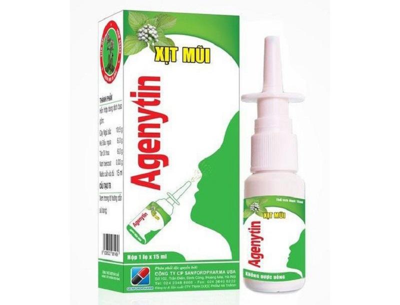 Sản phẩm chăm sóc và bảo vệ mũi thông thoáng Agenytin đến từ Mỹ