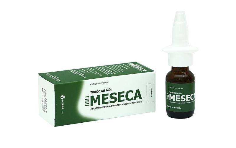 Hình ảnh thuốc xịt mũi Meseca