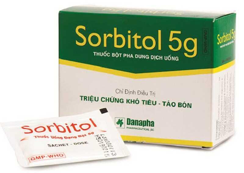 Sorbitol là một loại thuốc nhuận tràng thẩm thấu