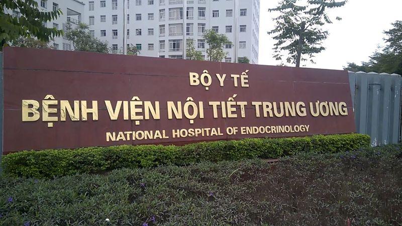 Bệnh nhân có thể khấm tiểu buốt tại bệnh viện Nội tiết Trung Ương