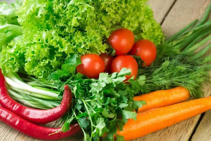 Người bị tiểu buốt nên ăn nhiều rau củ quả