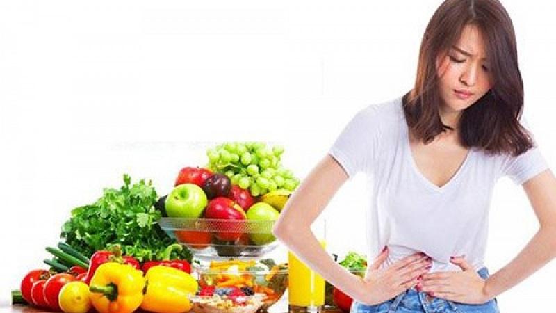 Ưu tiên sử dụng các thực phẩm giàu chất xơ, rau xanh, hoa quả.