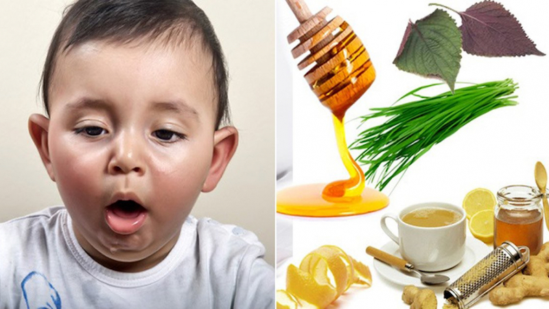 Trị ho cho trẻ bằng các bài thuốc dân gian hiệu quả, an toàn và rất dễ làm