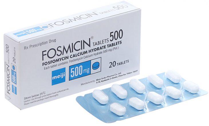 Thuốc Fosfomycin có tác dụng ngăn ngừa viêm nhiễm ở đường tiết niệu