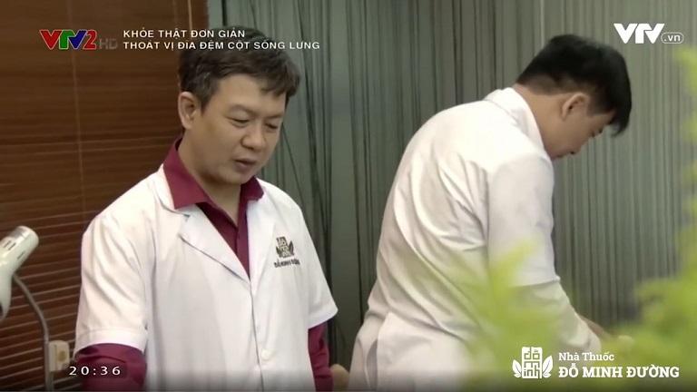 Đỗ Minh Đường tư vấn chữa xương khớp trên truyền hình