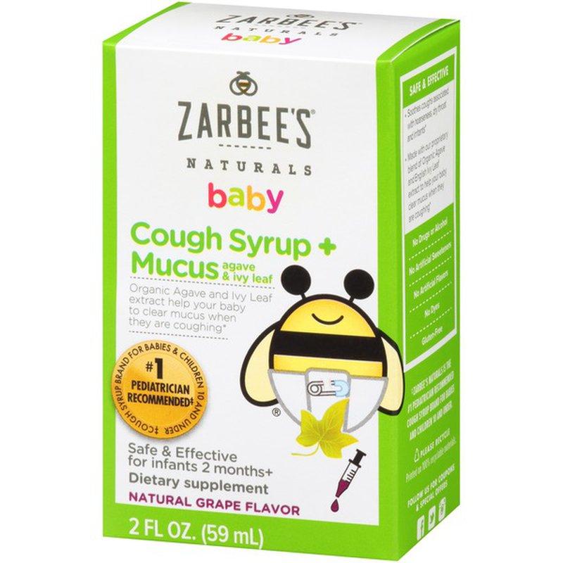 Thuốc Zarbee's Baby Cough cải thiện tình trạng ho thông thường, ho do cảm cúm ở trẻ