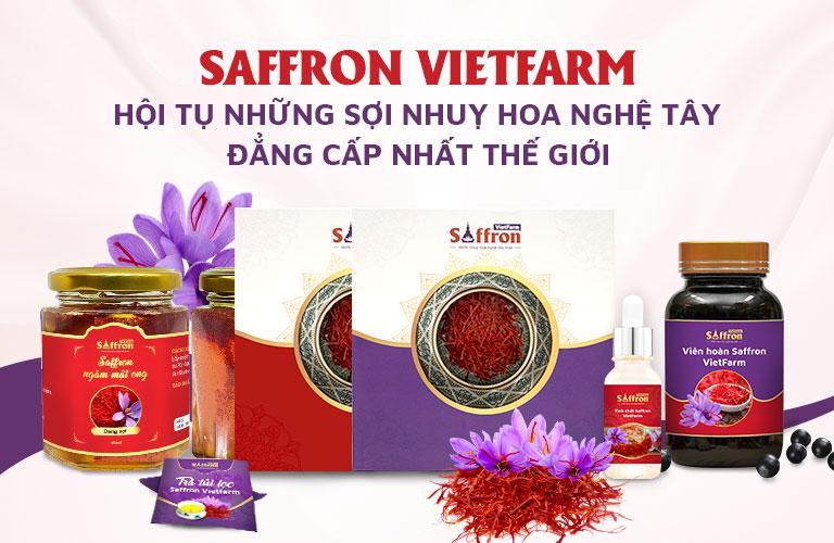 Saffron Vietfarm phân phối da dạng các loại nhuỵ hoa nghệ tây tốt nhất thế giới