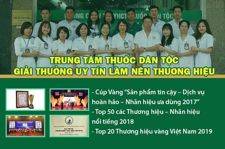 Trung tâm Thuốc dân tộc được với nhiều giải thưởng danh giá
