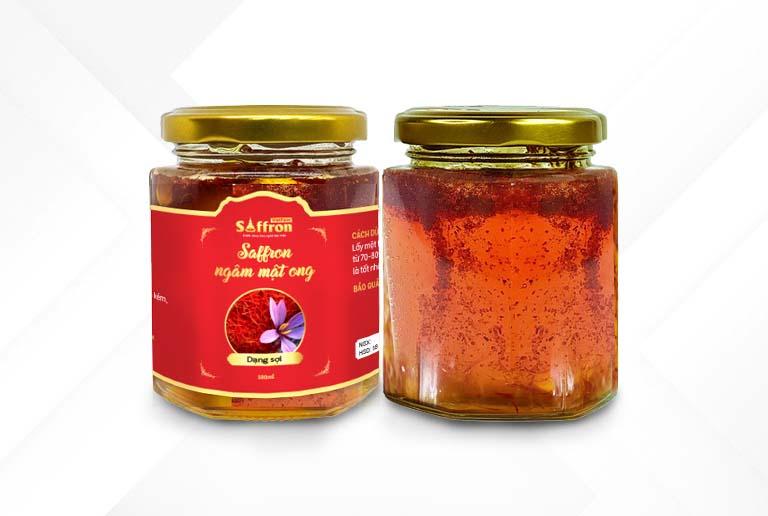 Saffron ngâm mật ong hoa oải hương cao cấp của Vietfarm