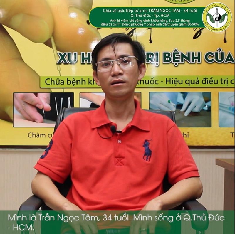 Bệnh nhân chia sẻ cảm nhận sau khi điều trị bằng phương pháp YHCT