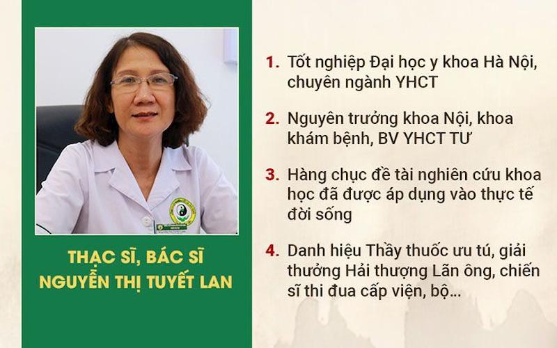 Bác sĩ Tuyết Lan và các chức vụ từng nắm giữ