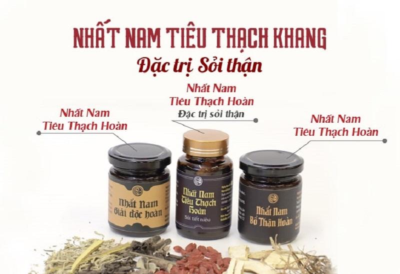Bộ sản phẩm Nhất Nam Tiêu Thạch Khang đặc trị sỏi thận