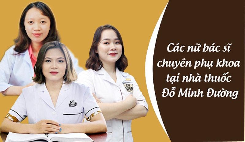 Đội ngũ bác sĩ phụ khoa tại nhà thuốc Đỗ Minh Đường