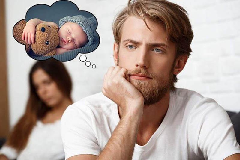Rối loạn cương dương không được kiểm soát sớm có thể đe dọa đến khả năng làm cha