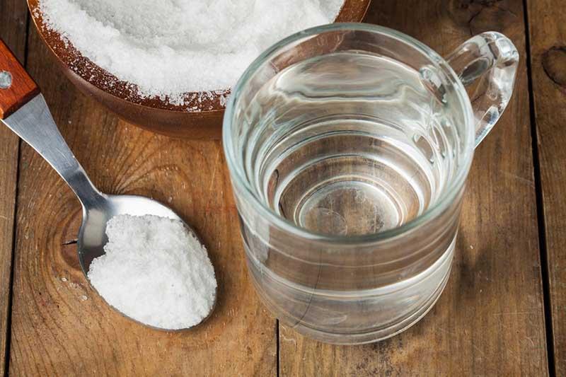 Nước muối có đặc tính sát khuẩn nên sẽ diệt sạch các vi khuẩn gây mùi