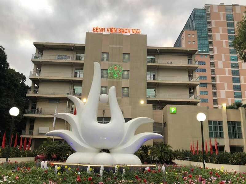 Hình ảnh bệnh viện Bạch Mai