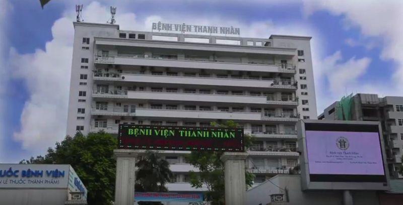 Bệnh viện Thanh Nhàn được trang bị cơ sở vật chất khang trang, hiện đại