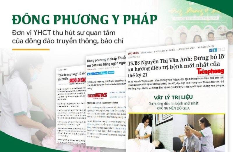 Đông phương Y pháp được giới truyền thông quan tâm