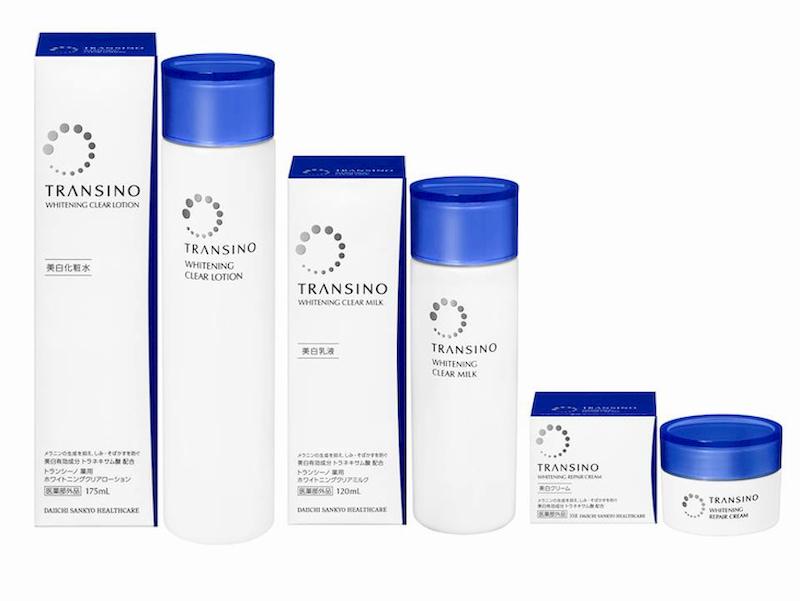 Sử dụng trọn bộ Transino của Nhật để có làn da sáng mịn