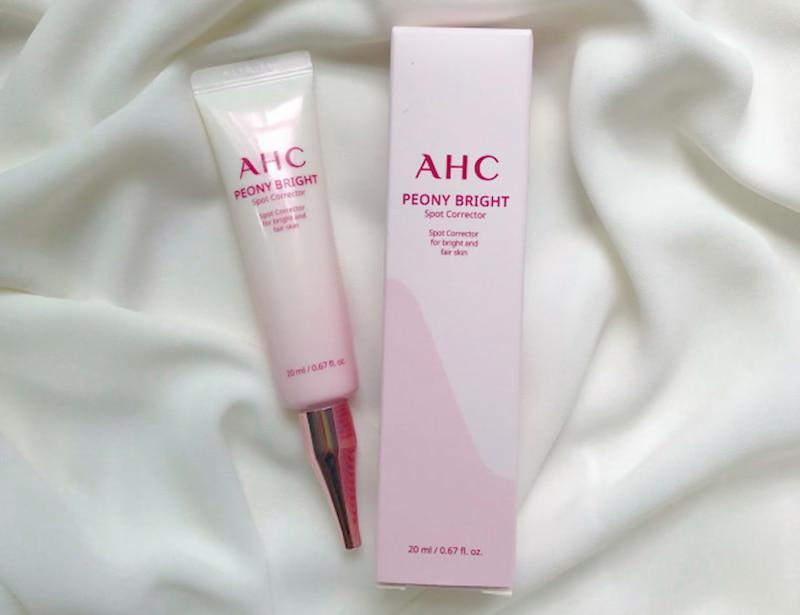 AHC Peony Bright Spot Corrector là dòng sản phẩm rất được tin dùng tại Hàn Quốc