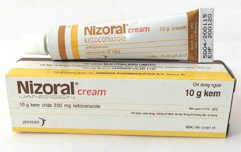 Thuốc Nizoral ngăn ngừa sự phát triển của nấm, cải thiện triệu chứng bệnh