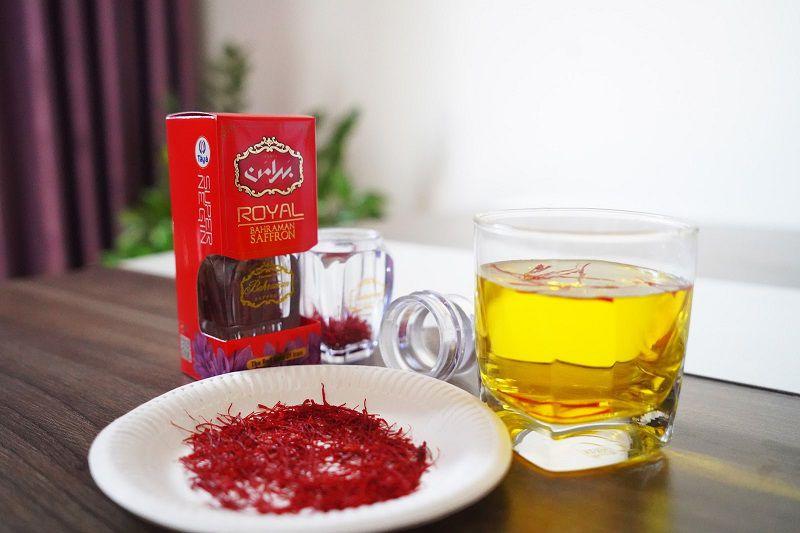 Trà saffron có cách thực hiện đơn giản