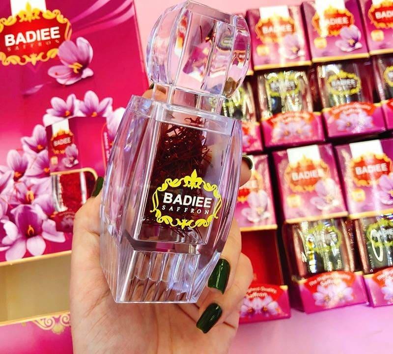 Nhuỵ hoa nghệ tây saffron Badiee có công dụng rất tuyệt vời