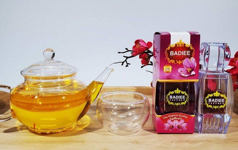 Trà saffron là cách sử dụng phổ biến, mang lại hiệu quả cao nhất