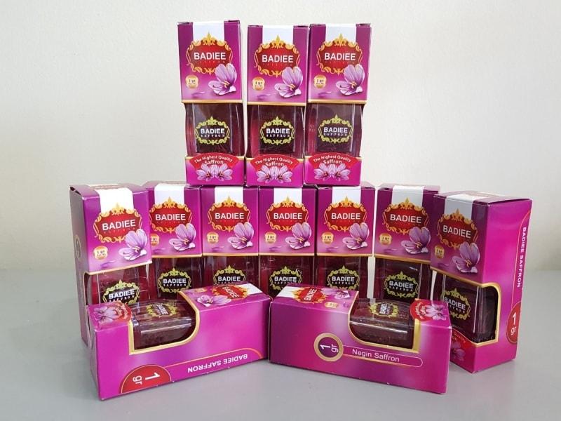 Nhuỵ hoa nghệ tây Badiee là thương hiệu nổi tiếng, cung cấp sản phẩm chất lượng từ Iran