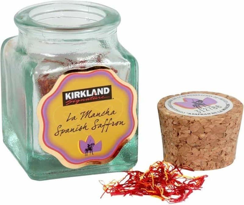Kirkland organic - sản phẩm nhụy hoa nghệ tây được ưa chuộng tại Mỹ
