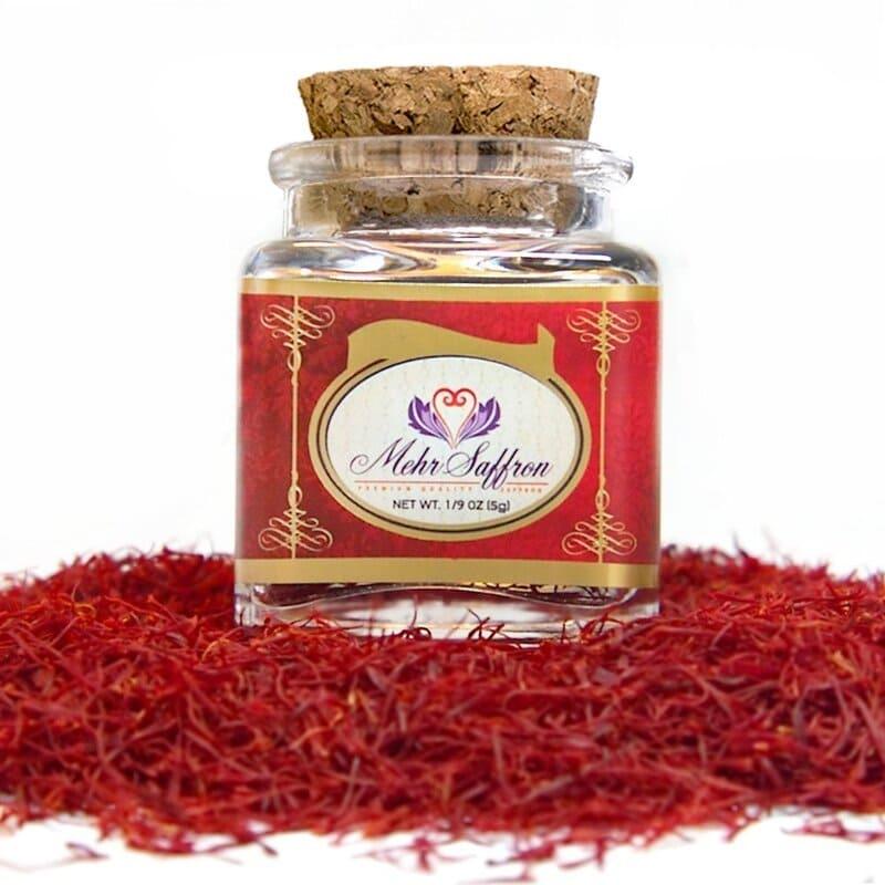 Merh Saffron Premium All Red Saffron được sản xuất từ sợi nhụy nhập khẩu tại Iran