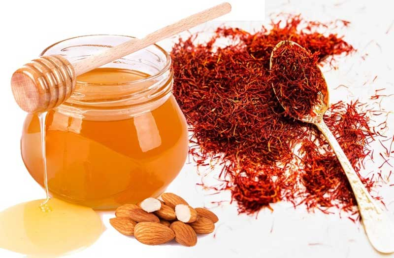 Ngâm saffron với mật ong bằng ba bước đơn giản ngay tại nhà