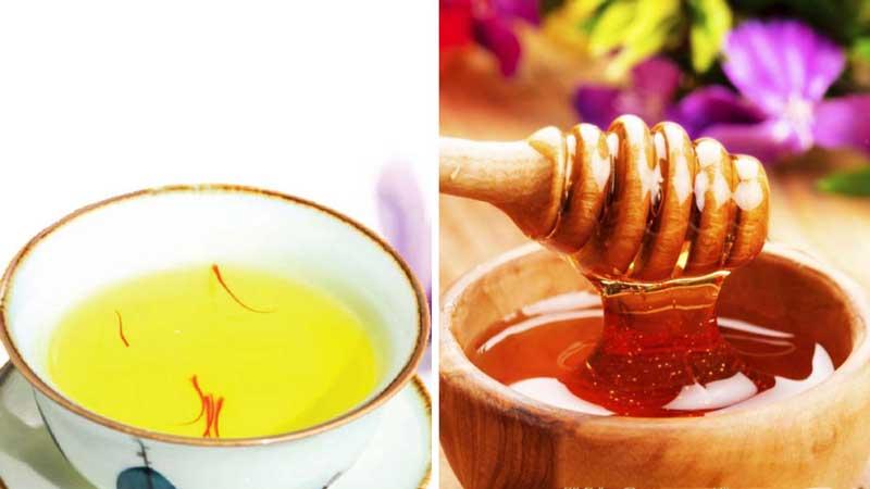 Nhụy hoa nghệ tây ngâm mật ong có công dụng tuyệt vời với sức khỏe người dùng