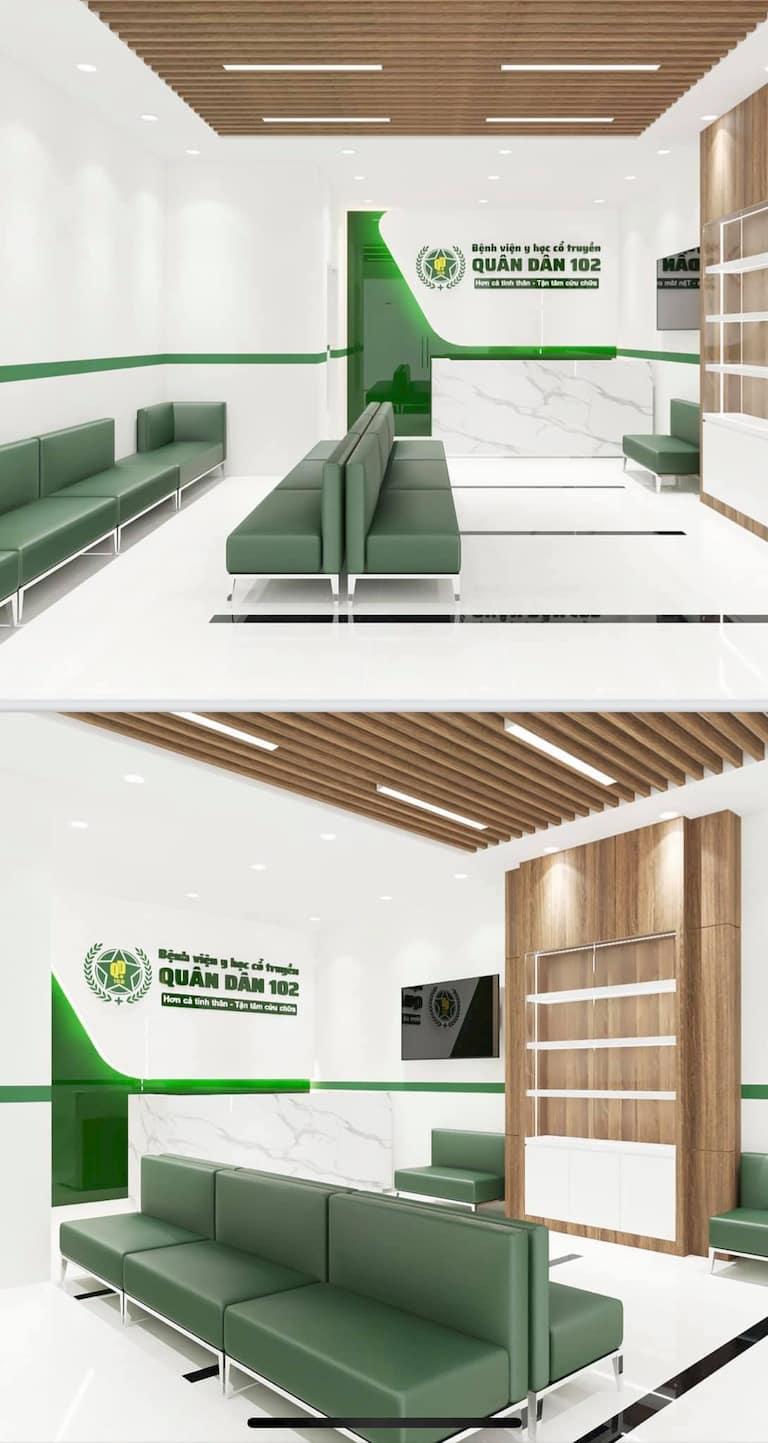Phòng khám được trang bị thiết bị hiện đại