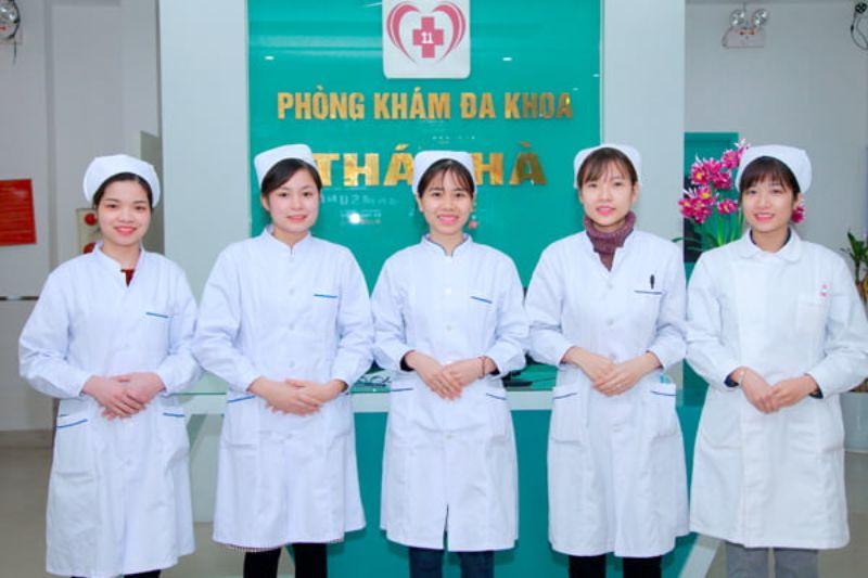 Dịch vụ chăm sóc sức khỏe hoàn hảo tại phòng khám đa khoa Thái Hà