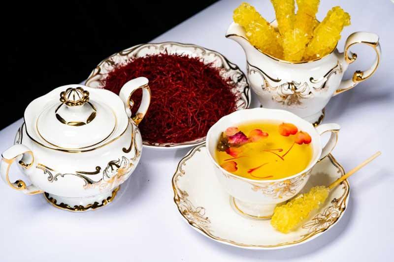 Saffron được kết hợp với nhiều thực phẩm, tạo thành món ăn bổ dưỡng